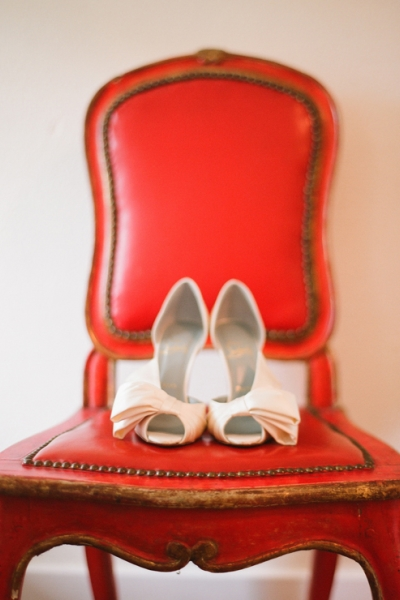 Shoes Big Red Chair 2