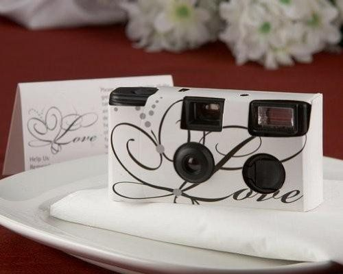 A Wonderful Way To Give Your Guests Thank You Blessing Is Disposable Camera